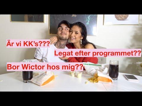 Q & A / MUKBANG MED WICTOR! GIFTA OSS?