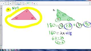 Math 8 - 3.2a - Angles of Triangles