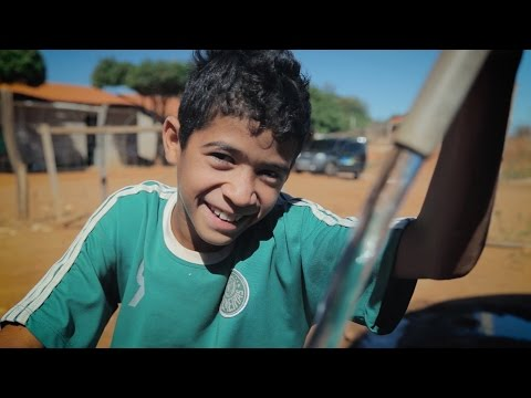 Desalination Provides Safe Drinking Water For Adrian And His Community In Brazil