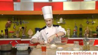 Крокеты из риса. Французская кухня. Рецепт. Десерт