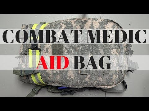 Combat Medic (68W) Medical Bag Overview