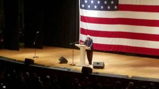 Bernie Sanders speaks in Charleston WV 2/12/17 Municipal Auditorium