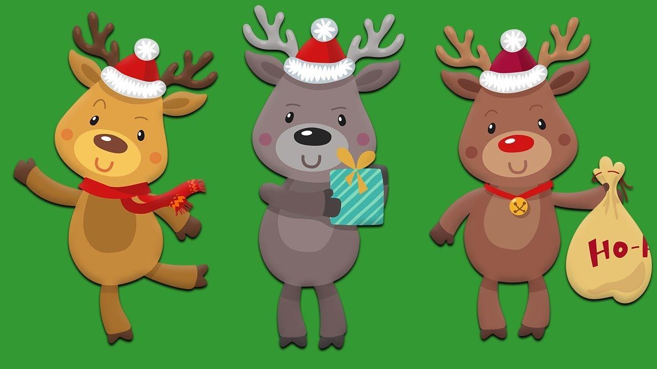 All Santa S Reindeer Names Of All The Reindeer Youtube