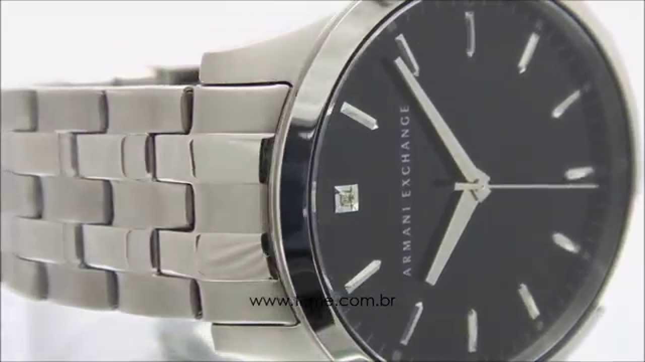 a5589aaefb9 Relógio Armani Exchange AX2158 1PN - YouTube