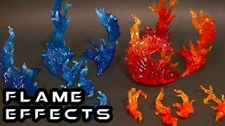 Tamashii Nations BURNING FLAME Effect Set Review