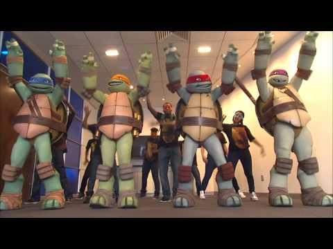 Gangnam Style (parody) featuring Teenage Mutant Ninja Turtles and Vanilla Ice