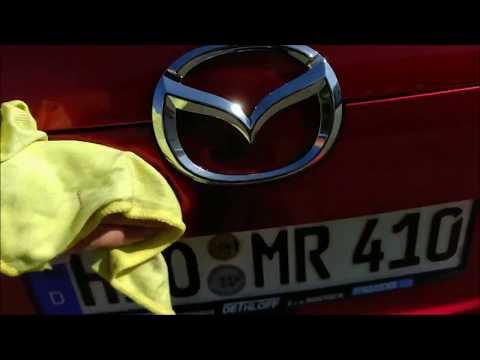 Auto Waschen bei Shell 19.4.18 - Mazda CX5
