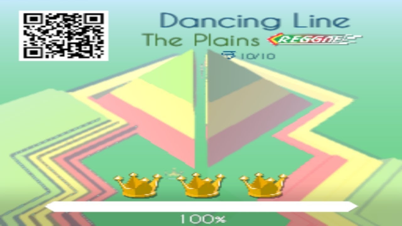 Dancing Line - The Plains (Reggae Remix): Unlock And Gameplay
