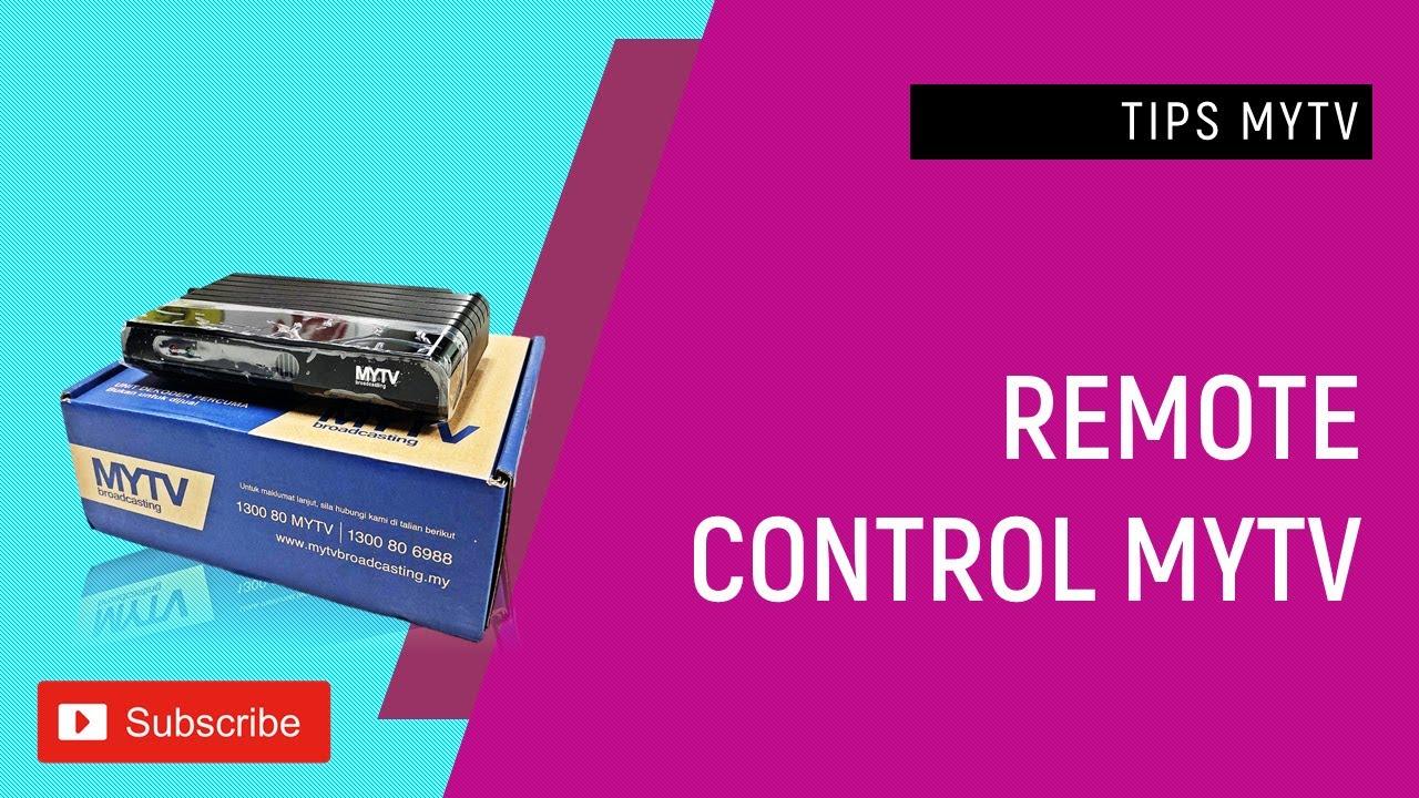 MYFREEVIEW : Remote dekoder MYTV rosak? Remote mytv percuma dan mytv advance sama tak?