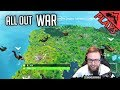 All Out War - Fortnite Gameplay #41 (Fortnite Squad 50v50 StoneMountain64)