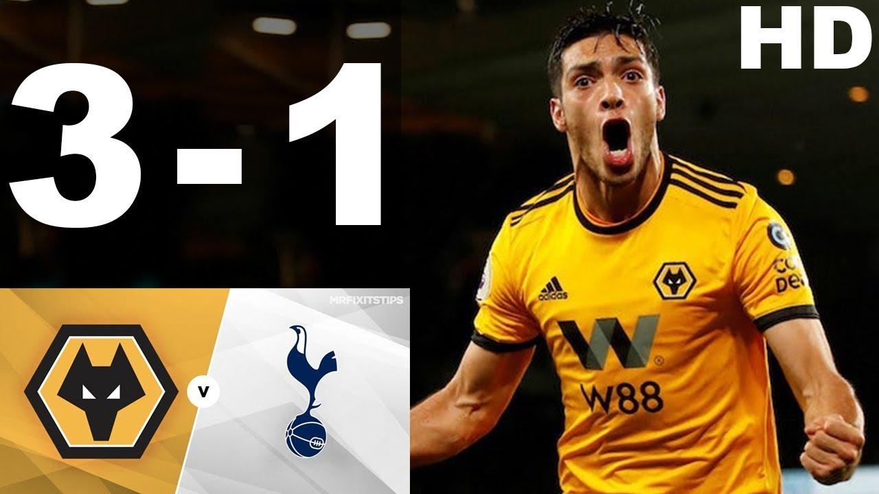 Tottenham vs Wolves highlights: Jimenez nets winner