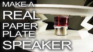 Rockin' Paper Plate Speaker