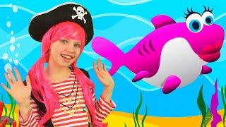 Веселая Детская Песенка про Акуленка | Песни для детей | Чух Чух ТВ