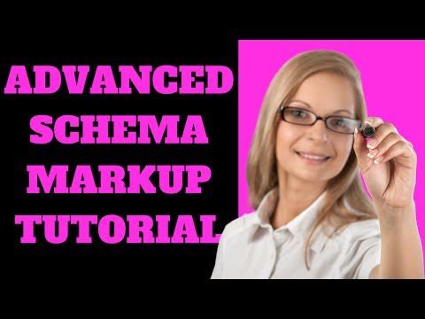 Advanced Schema Markup Tutorial 2018