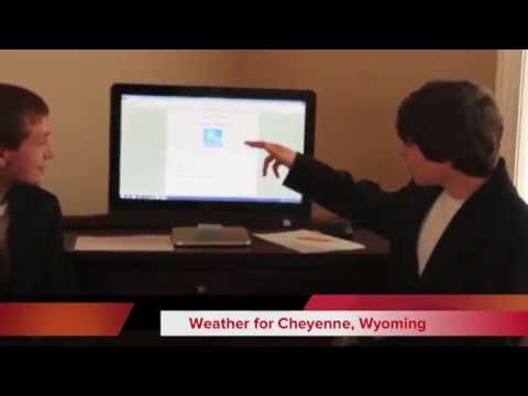 Hayden Cline & Tom's Zimmer's Weather Project - Mr G 9th grade