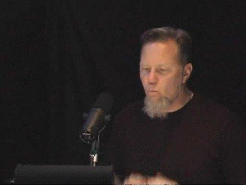 James Hetfield singing Judas Kiss
