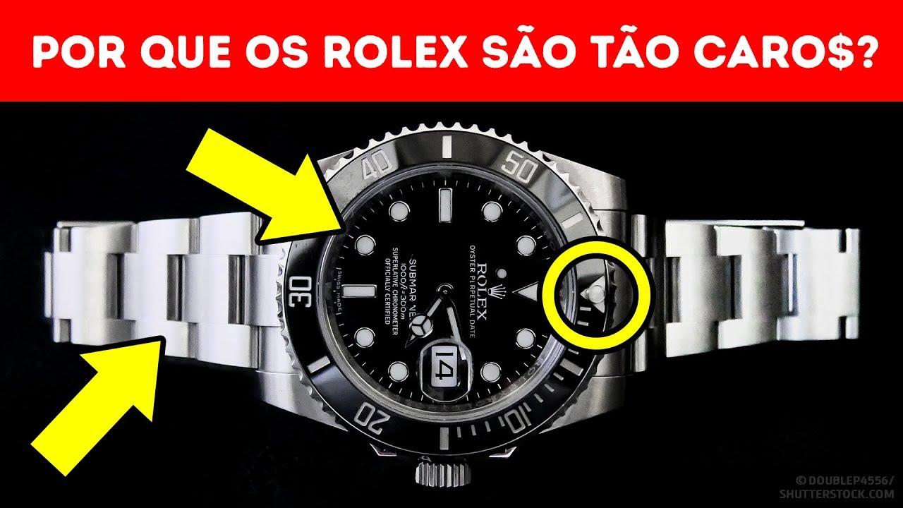 7e8e5b34ccc Por Que O Relógio Rolex É Tão Caro  - YouTube