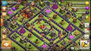 LVN Game |Thử thách đánh chay rồng 5 | Clash of Clans