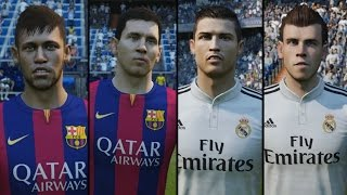 Lionel Messi & Neymar Jr vs Cristiano Ronaldo & Gareth Bale | Ultimate Battle (FIFA 15 Edit)