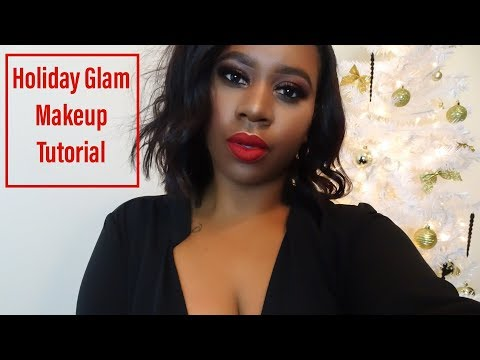 Holiday Glam Makeup Tutorial | Asia La'Dawn
