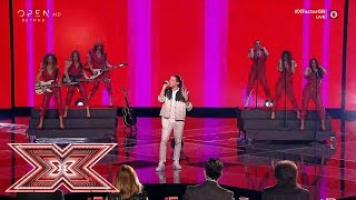 Dance with somebody, από τον Δημήτρη Παπατσάκωνα   Live 8   X Factor Greece 2019