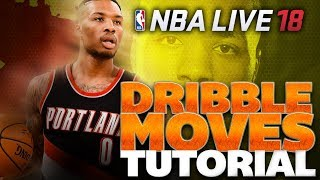 NBA Live 18 Dribbling Tips & Tutorial | How to MASTER Dribbling!