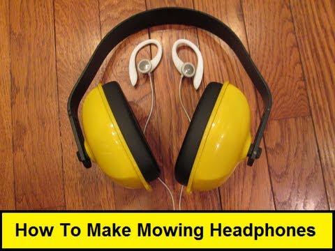 How To Make Mowing Headphones (HowToLou.com)