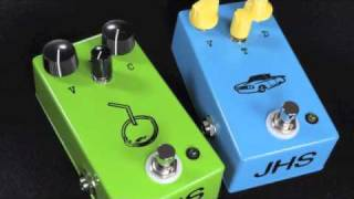 Jhs Lime Aid And Low Drive Pedal Demo By Musicgearfast.com
