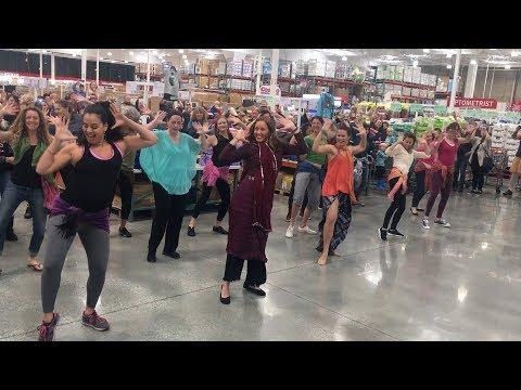 Bollywood Flashmob in Costco - Santa Cruz, CA - February 2, 2019