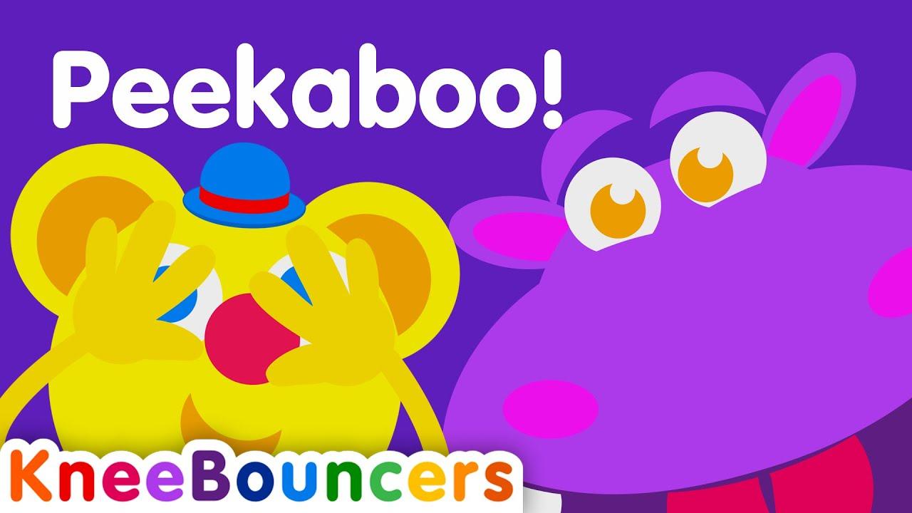 Peekaboo |  Toddler Songs  |  Nursery Rhymes  |  KneeBouncers