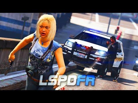 LSPDFR - Officer hit the panic button! - Day 13 (Hood Cop)