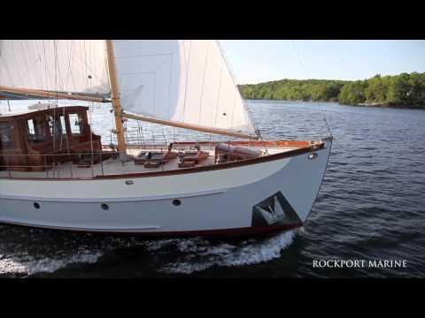 """Trade Wind"" Restoration at Rockport Marine"