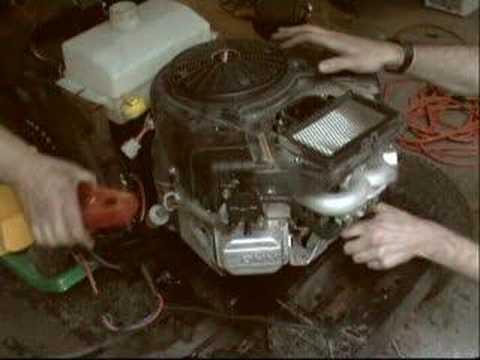 Testing a Briggs & Stratton 22HP VTwin OHV Intek motor