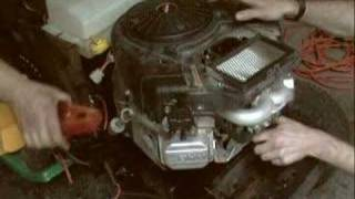 Testing a Briggs & Stratton 22HP V-Twin OHV Intek motor