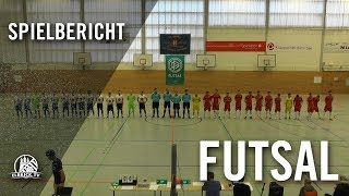 HSV-Panthers - Futsal Panthers Köln (Viertelfinale Runde 1, Deutsche Futsal-Meisterschaft 2019)