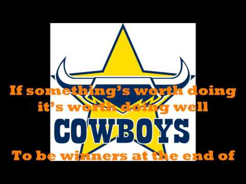 North Queensland Cowboys theme song (Lyrics) NRL Sing-A-Long