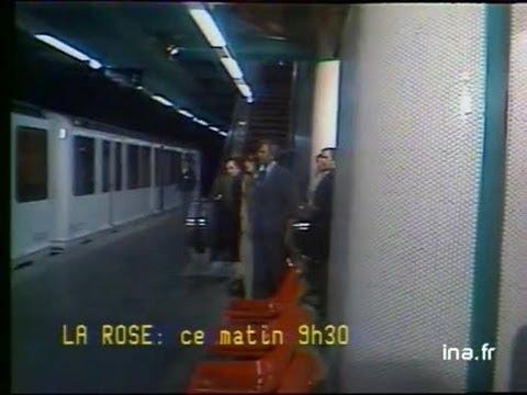 Inauguration du métro de Marseille