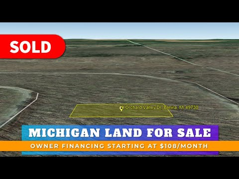 Just Sold By WeSellNewYorkLand.com - Land For Sale Lot 382 Orchard Valley Dr, Elmira, MI