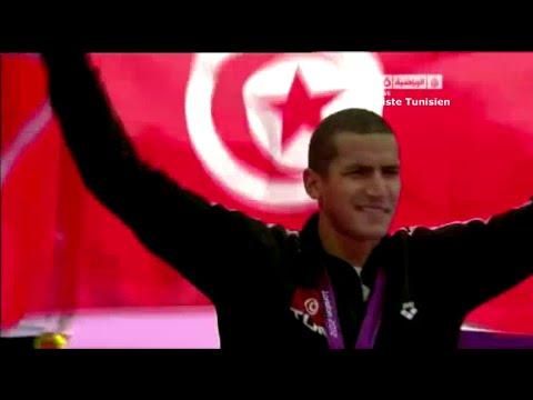 JO Londres - Natation 10 km - Tunisie  : Oussama Mellouli champion olympique en eau libre
