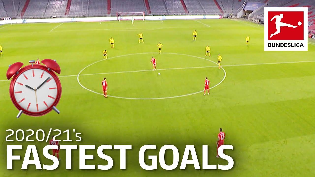 Top 10 Fastest Goals in 2020/21