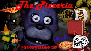 Let's Play The Pizzeria On ROBLOX!