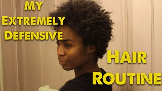 My Extremely DEFENSIVE Hair Routine ft Easy Curl RedPro Thumbnail