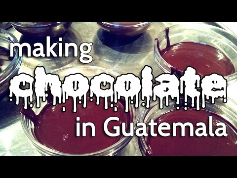 Chocolate Making in Guatemala