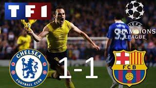 Chelsea 1-1 Barcelone | Demi-finale retour | Ligue des champions 2008/2009 | TF1/FR
