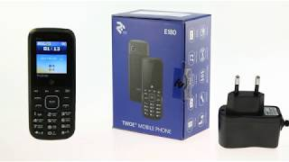 Відеоогляд мобільного телефону 2E TWOE E180
