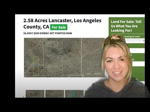 2.58 Lancaster Property Land for Sale in Los Angeles County, California