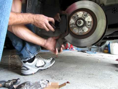 changing front brake pads on an acura youtube rh youtube com 1997 Acura 3.2 TL 1997 Acura 3.2 TL