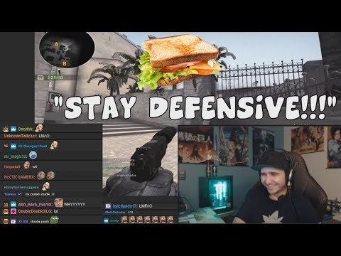 Summit1G Reacts To CS:GO - The Most Toxic Player I Have Ever Seen [WITH CHAT]