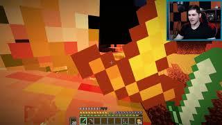 """Minecraft: Podwójne Szaleństwo #7 - """"Netherowa twierdza!"""" w/ Akiri"""