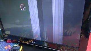 memperbaiki led / lcd tv rusak bagian gambar dengan cepat